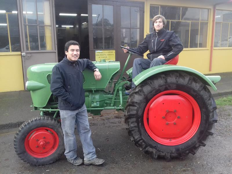 Restauración Tractor Alemán Fendt Farmer 1