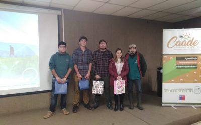 Exposición alumnos becados a NZ por la Empresa Prolesur